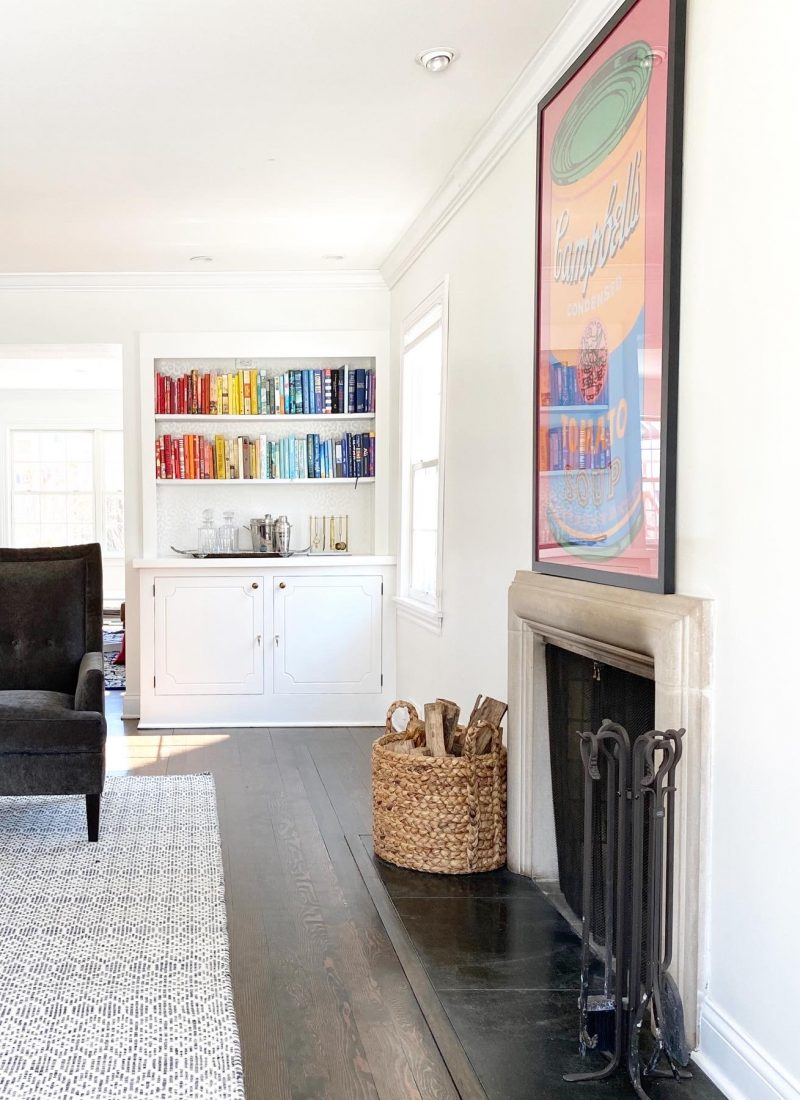 Our  Home Reno: The Living Room