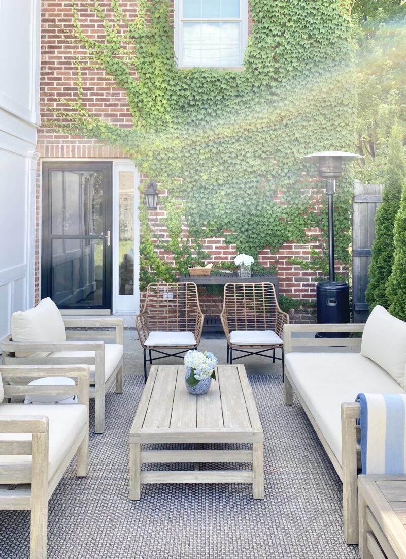 A Stylish Outdoor Space on a Budget