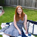 Backyard Style with Gingham