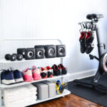 My Organized Workout Space